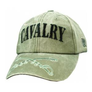 Army Cavalry Extreme Embroidery Cap (Olive Drab)