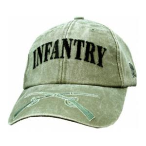 Infantry Extreme Embroidery Cap (Olive Drab)