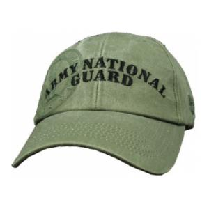 U.S. Army National Guard Extreme Embroidery Cap (Olive Drab)