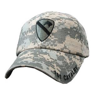 1st Cavalry Division Cap (Pre-Washed ACU)