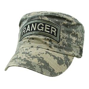 Army Ranger Flat-Top Cap (Pre-Washed ACU)