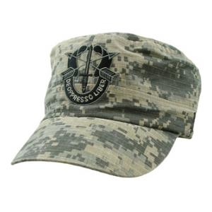 Army Special Forces Flat-Top Cap (Pre-Washed ACU)