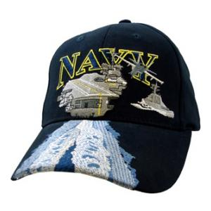 US Navy Aircraft Carriers Cap (Dark Navy)
