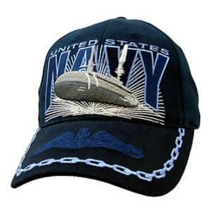 US Navy Submarines Cap (Dark Navy)