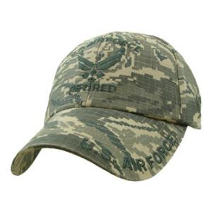 Air Force Retired Wing Logo Cap (ABU)