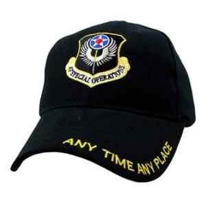 Air Force Special Ops Cap (Black)