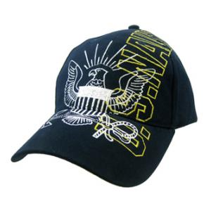 US Navy Vertical Cap w/ Emblem