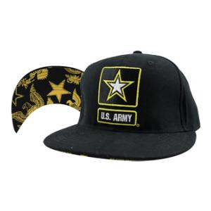 U.S. Army Logo Cap with Under-Brim design