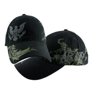 U.S. Army Logo with Floral Design Cap