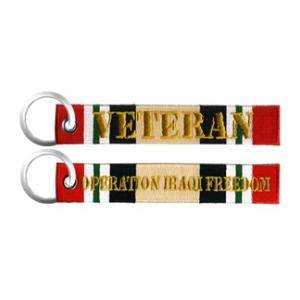 Operation Iraqi Freedom Veteran Keychain