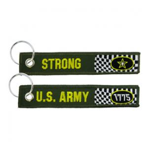 US Army Strong Keychain