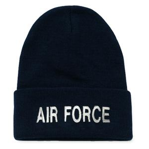 Air Force Letters Watch Cap (Dark Navy)
