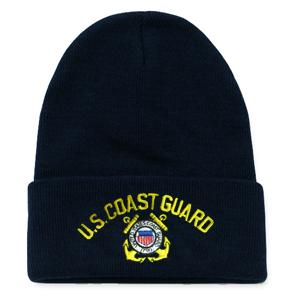 Coast Guard Logo Watch Cap (Dark Navy)
