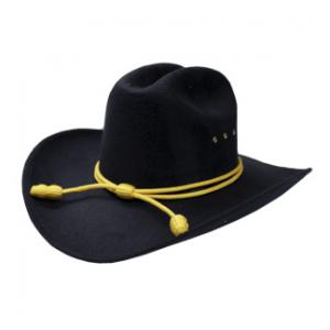 Cavalry Hat with Cord (Black)