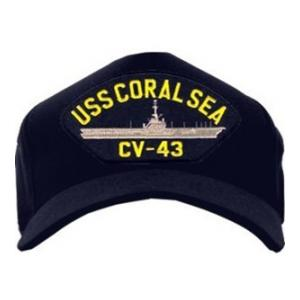 USS Coral Sea CV-43 Cap (Dark Navy)