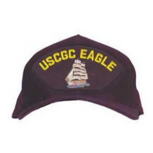 USCGC Eagle Cap with Boat (Dark Navy)