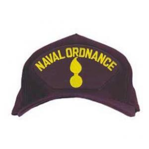 Naval Ordnance Cap with Logo (Dark Navy)