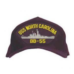 USS North Carolina BB-55 Cap (Dark Navy)