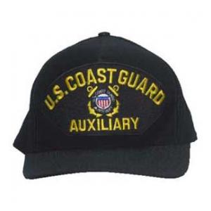 Coast Guard Auxiliary Cap with Emblem (Dark Navy)