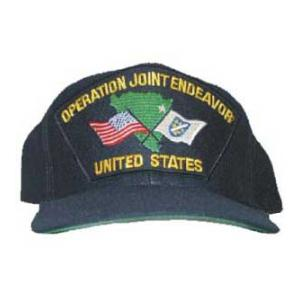 Operation Joint Endeavor US Cap with Map and Flags