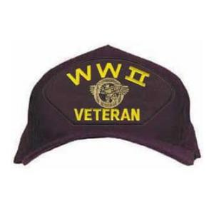 WWII Veteran Cap with Ruptured Duck