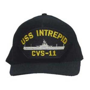 USS Intrepid CVS-11 Cap (Dark Navy)