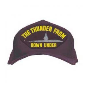 The Thunder From Down Under Cap with Sub (Dark Navy)