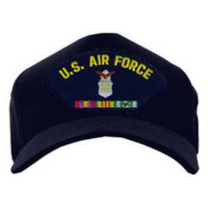 Air Force Cap with Vietnam Ribbons