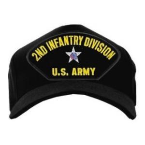 f529a5850d62c 2nd Infantry Division Patch Cap (Black)