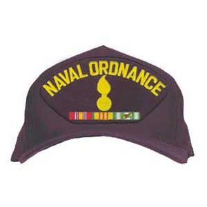 Naval Ordinance Cap with Ribbons (Dark Navy)