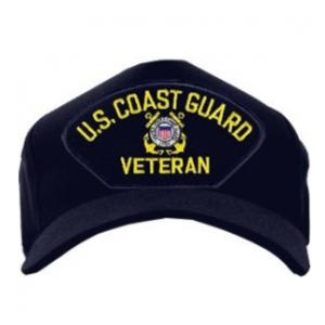 Coast Guard Veteran Cap (Dark Navy)