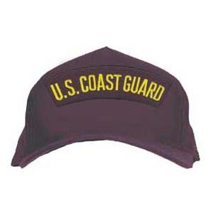 Coast Guard Cap with Rocker Only (Dark Navy)