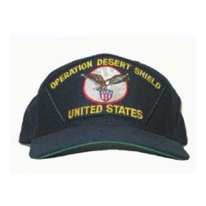 Operation Desert Shield US Cap with Eagle