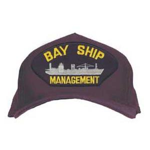 Bay Ship Management Cap with Boat (Dark Navy)
