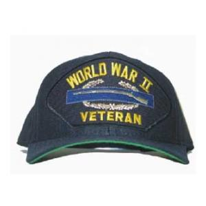 World War II Veteran Cap with Combat Infantry Badge
