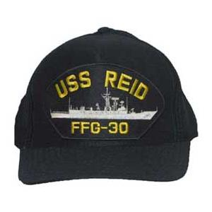 USS Reid FFG-30 Cap (Dark Navy) (Direct Embroidered)