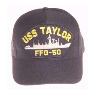 USS Taylor FFG-50 Cap (Dark Navy) (Direct Embroidered)