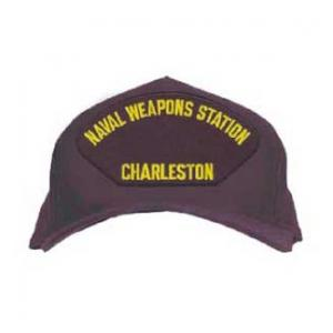 Naval Weapons Station - Charleston Cap (Dark Navy) (Direct Embroidered)