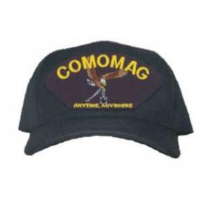 COMOMAG Anytime, Anywhere Cap with Logo (Dark Navy)