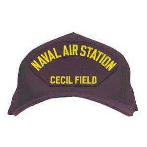 Naval Air Station - Cecil Field Cap (Dark Navy) (Direct Embroidered)