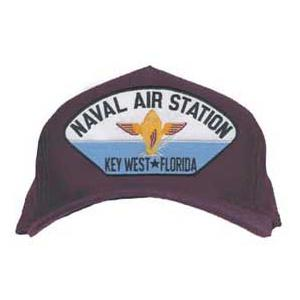 Naval Air Station - Kew West Florida Cap with Emblem (Dark Navy)