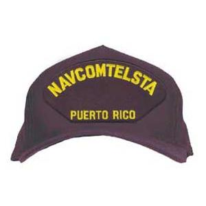 NAVCOMTELSTA - Puerto Rico Cap (Dark Navy) (Direct Embroidered)