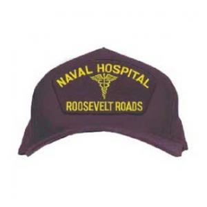 Naval Hospital - Roosevelt Roads with Logo (Dark Navy)