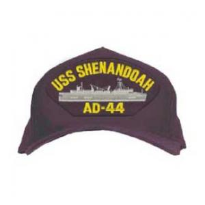 USS Shenandoah AD-44 Cap (Dark Navy) (Direct Embroidered)