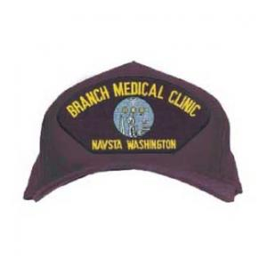 Branch Medical Clinic - Navsta Washington Cap with Logo (Dark Navy)