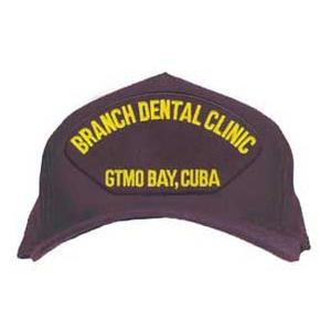 Branch Dental Clinic - Gtmo Bay, Cuba Cap (Dark Navy) (Direct Embroidered)