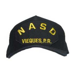 NASD - Vieques, P.R. Cap (Dark Navy) (Direct Embroidered)