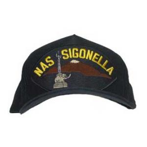 NAS Sigonella Cap with Emblem (Dark Navy)