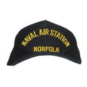 Naval Air Station - Norfolk Cap (Dark Navy) (Direct Embroidered)