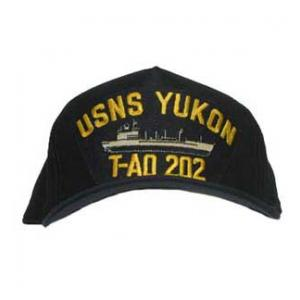 USNS Yukon T-AO 202 Cap (Dark Navy) (Direct Embroidered)